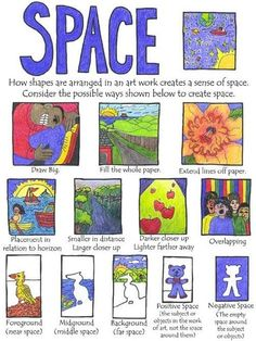 Image result for art project with elements of art space