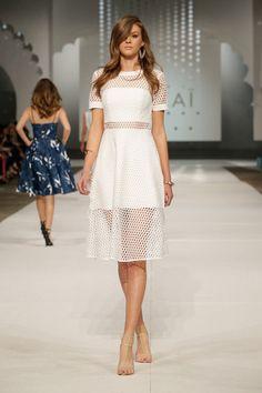 Aria Tee Dress Brazillia Heels