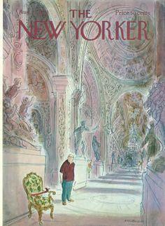 James Stevenson | The New Yorker Covers