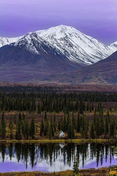 etherealvistas:  Little trapper cabin (USA) by  Eric Smith||...