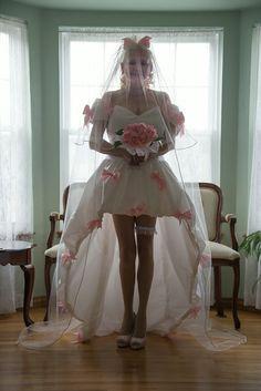 My DIY Custom November Rain Wedding Dress Was Made By Debbie Rohan