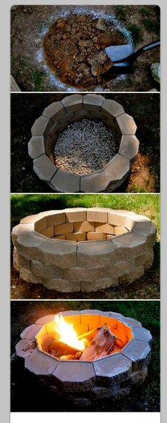 DIY:How To Build A Backyard Fire Pit