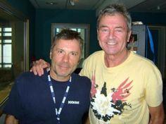 Bruce Dickinson & Ian Gillan