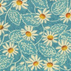 1 yard POT LUCK by American Jane & Moda sku2164117 SKY BLUE floral quilt fabric