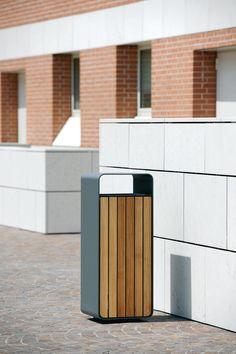 Artform Urban Furniture: Metalco Box Litter Bins 1 of 12