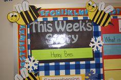Reading Street - Honey Bees!  Mr. First Grade