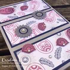 stampin up paisley and posies - Google Search