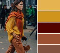 Colour Combinations Fashion, Color Combinations For Clothes, Fashion Colours, Colorful Fashion, Color Schemes Colour Palettes, Color Trends, Color Combos, Color Matching Clothes, Matching Outfits
