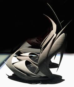 'flames' by zaha hadid for united nude image courtesy of united nude