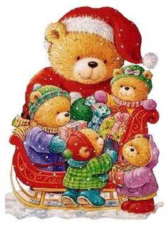 Bears at Christmas