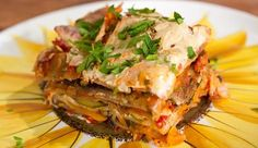 Dairy Free Vegetarian Lasagne - Good Chef Bad Chef