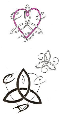 sisterhood symbol tattoo- love small one w/o the heart