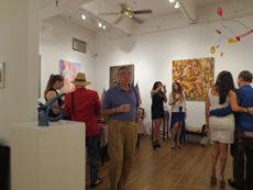 """Amsterdam Whitney Gallery """"Stars & Stripes Forever!"""" Party, July 12 - August 8, 2012"""