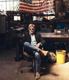 """bonjour-paige: """" """"Robert Redford in The Wall Street Journal Magazine (2015) """" """""""