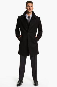 BOSS Black Coat, Suit & HUGO Dress Shirt