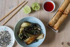 Sticky Soy Chard. Sweet, savoury, sour and sticky, a new way with one of my favourite vegetables. Swiss or rainbow chard would be delicious for this recipe.