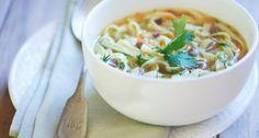 Acid reflux friendly recipe: Homemade turkey soup via Homemade Turkey Soup, Leftover Turkey Soup, Ulcer Diet, Reflux Diet, Low Acid Recipes, Acid Reflux Recipes, Soup Recipes, Cooking Recipes, Healthy Recipes