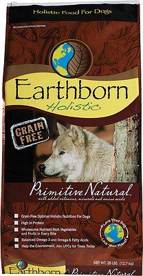 Earthborn Holistic Primitive Natural Grain Free Natural Dry Dog
