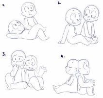Image Result For Best Friend Poses Reference Character Drawing