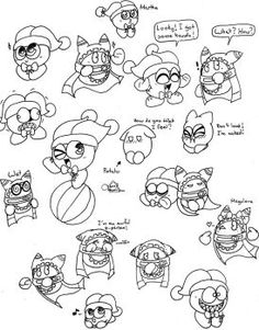Magolor and marx doodles