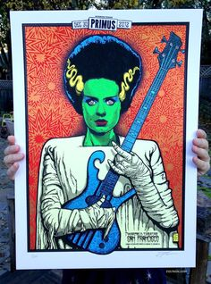 Primus Poster Series - San Francisco, CA (Night 1) by Zoltron