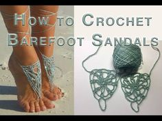 Knitting Patterns Gloves How to Crochet Barefoot Sandals Harbor Fog Barefoot Sandals Tutorial, Crochet Barefoot Sandals, Crochet Gratis, All Free Crochet, Crochet Shoes, Crochet Slippers, Knitting Patterns, Crochet Patterns, Bare Foot Sandals