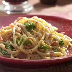 Spaghetti alla Carbonara from Market Street DFW