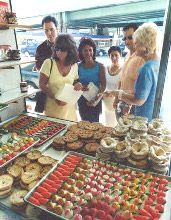 """Visit """"Little Italy"""" and experience the markets of Boston's North End"""