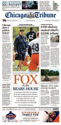 Cheap NFL Jerseys NFL - Chicago Bears Football on Pinterest | Chicago Bears, John Fox and ...