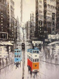 Hong Kong trams || http://hongkongtourismblog.blogspot.com/2013/04/trams-5-reasons-why.html