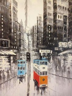Hong Kong trams || http://hongkongtourismblog.blogspot.com/2013/04/trams-5-reasons-why.html