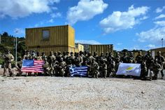 Joint Tripartite Exercise of Greece – Cyprus – USA Special Operations Forces Hellenic Army, Special Operations Command, Royal Air Force, Coast Guard, Crete, Cyprus, Athens, Sun Lounger, Survival