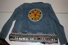 Some beautiful ideas for customizing jean jackets
