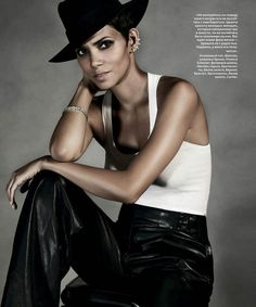 Halle Berry for InStyle Russia