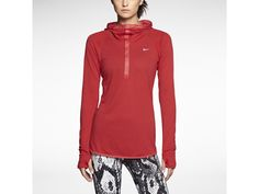 Nike Dri-FIT Wool Women's Running Hoodie.  <3  I think I'd be happy with it in any color and I probably would just wear it for everyday, not running.