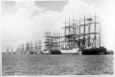 Sailing ships possibly at Newcastle, New South Wales http://www.flickr.com/photos/anmm_thecommons/7769761070/