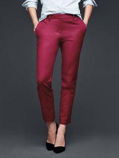 Slim cropped pants | Gap