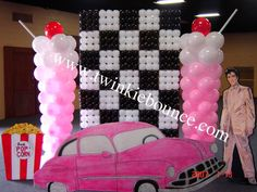 50's Rock N Roll Balloon Decoration Prom Photo by twinkiebounce | Photobucket