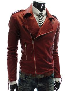 Jackets Spring Mens Casual Leather Jacket Slim Stand Collar Mens Locomotive Stitching Leather Coat Casual Autumn Overcoat Masculino Yet Not Vulgar Men's Clothing
