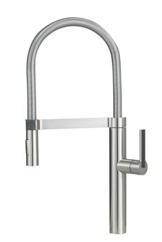 Blanco 441332 Culina Semi-Pro Kitchen Faucet, Satin Nickel - Touch On Kitchen Sink Faucets - Amazon.com