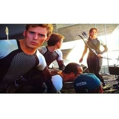 Behind the Scenes Catching Fire