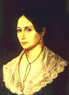 Anna Maria Ribeiro ( Anita ) moglie di Giuseppe Garibaldi nel 1842.  #TuscanyAgriturismoGiratola