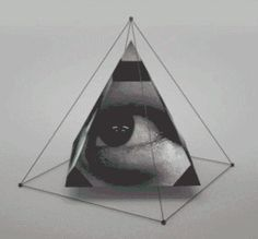 art gif trippy médicaments rampants acide oeil lsd psychédélique wierd surréaliste abstrait pyramide bad-trip