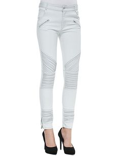 #CAMEO New Life Ribbed Moto Jeans