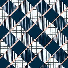 Portfolio of Melbourne based freelance textile & surface designer Cassie Byrnes Geometric Patterns, Geometric Designs, Textile Patterns, Abstract Pattern, Pattern Art, Geometric Shapes, Color Patterns, Plaid Pattern, Graphic Design Pattern