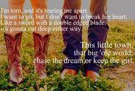 Always keep the girl..