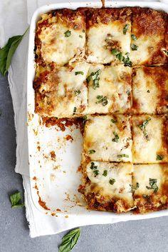 Lighter Lasagna Bolognese   Girl Versus Dough