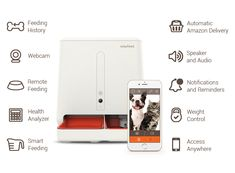 easyFeed Automatic Pet Feeder w/ Webcam and Amazon Delivery by gosh! — Kickstarter