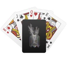 Outside The Square Playing Cards - home decor design art diy cyo custom