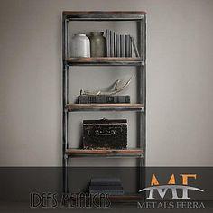 Metals Ferra Group - Division Muebles | Productos | Estanteria / Biblioteca